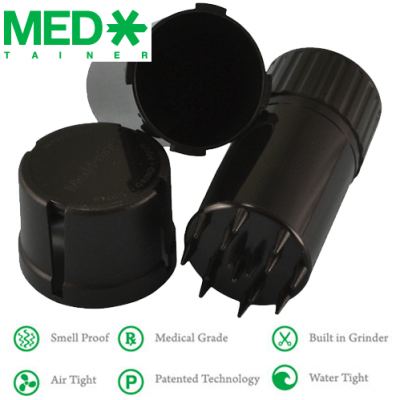 Medtainer container & grinder
